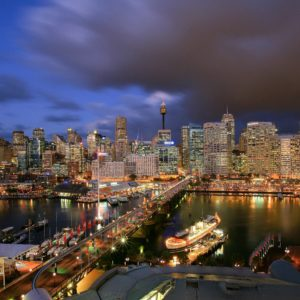 download Darling Harbour City Centre of Sydney of Australia Country HD …