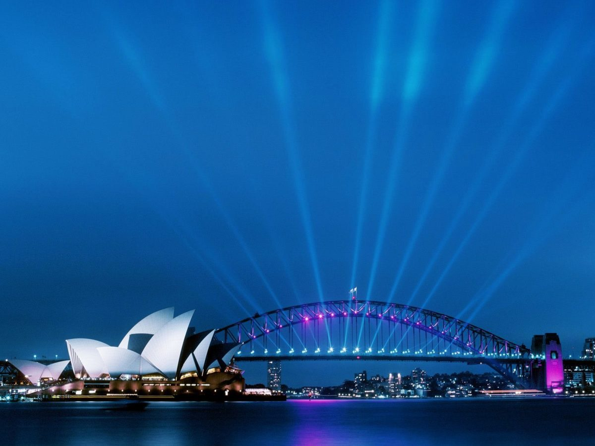 Sydney Opera House at Dusk Wallpapers | HD Wallpapers | ID #9513