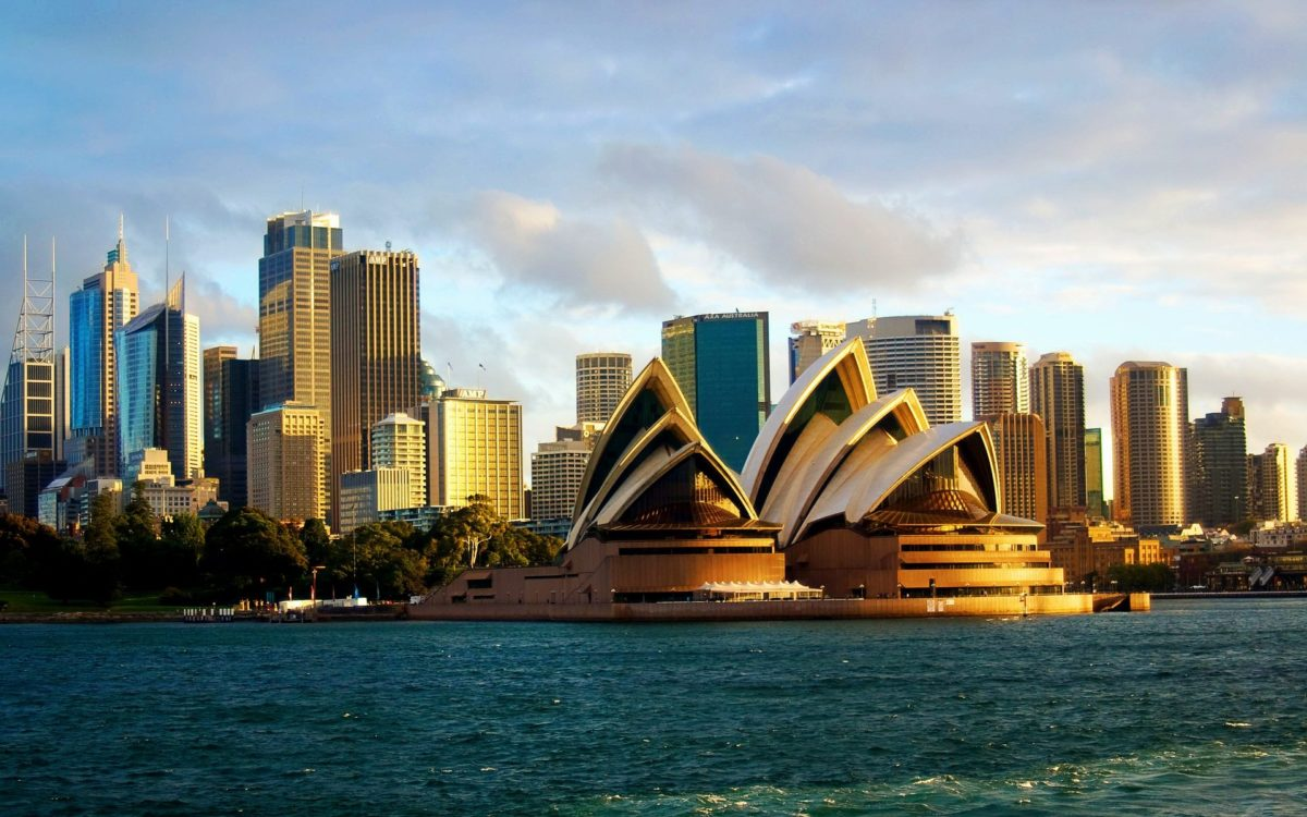 Sydney Opera House Cityscape Wallpaper – HD Wallpapers