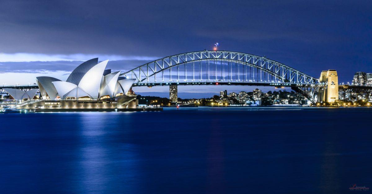 Sydey Opera House Near Harbour bridge landscape photo, sydney HD …