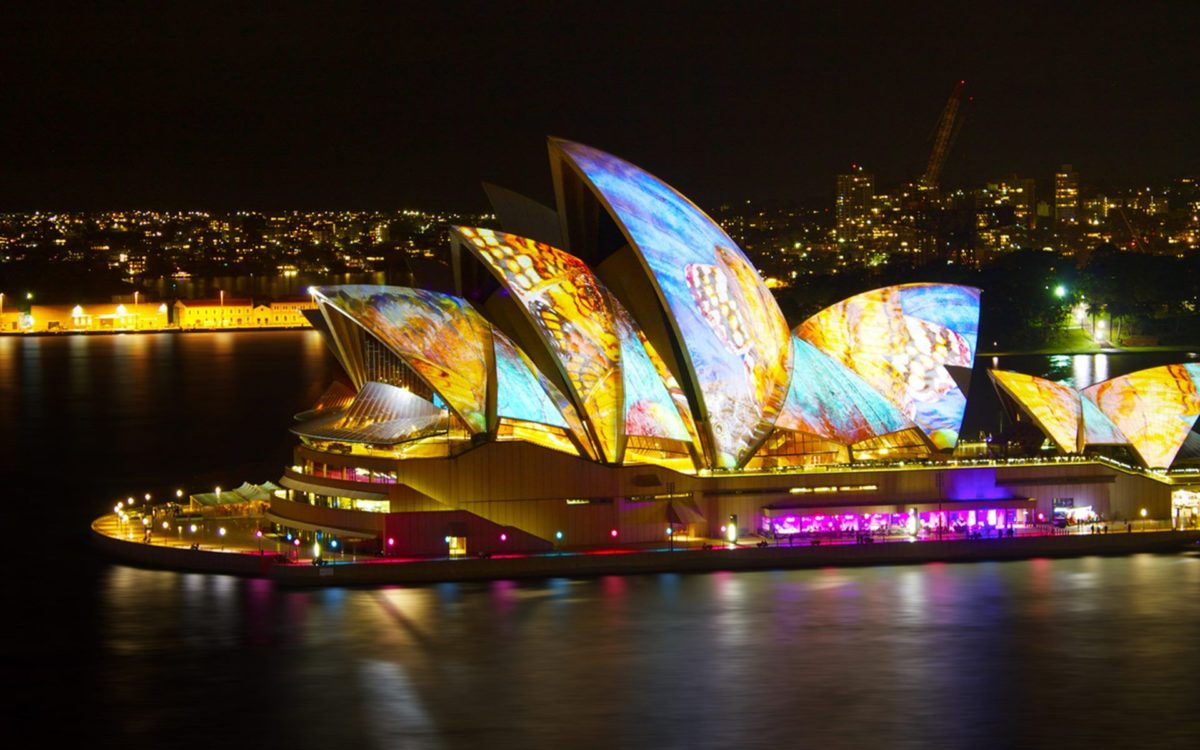 Sydney Opera House At Night Magnificent HD Wallpaper #02284 …