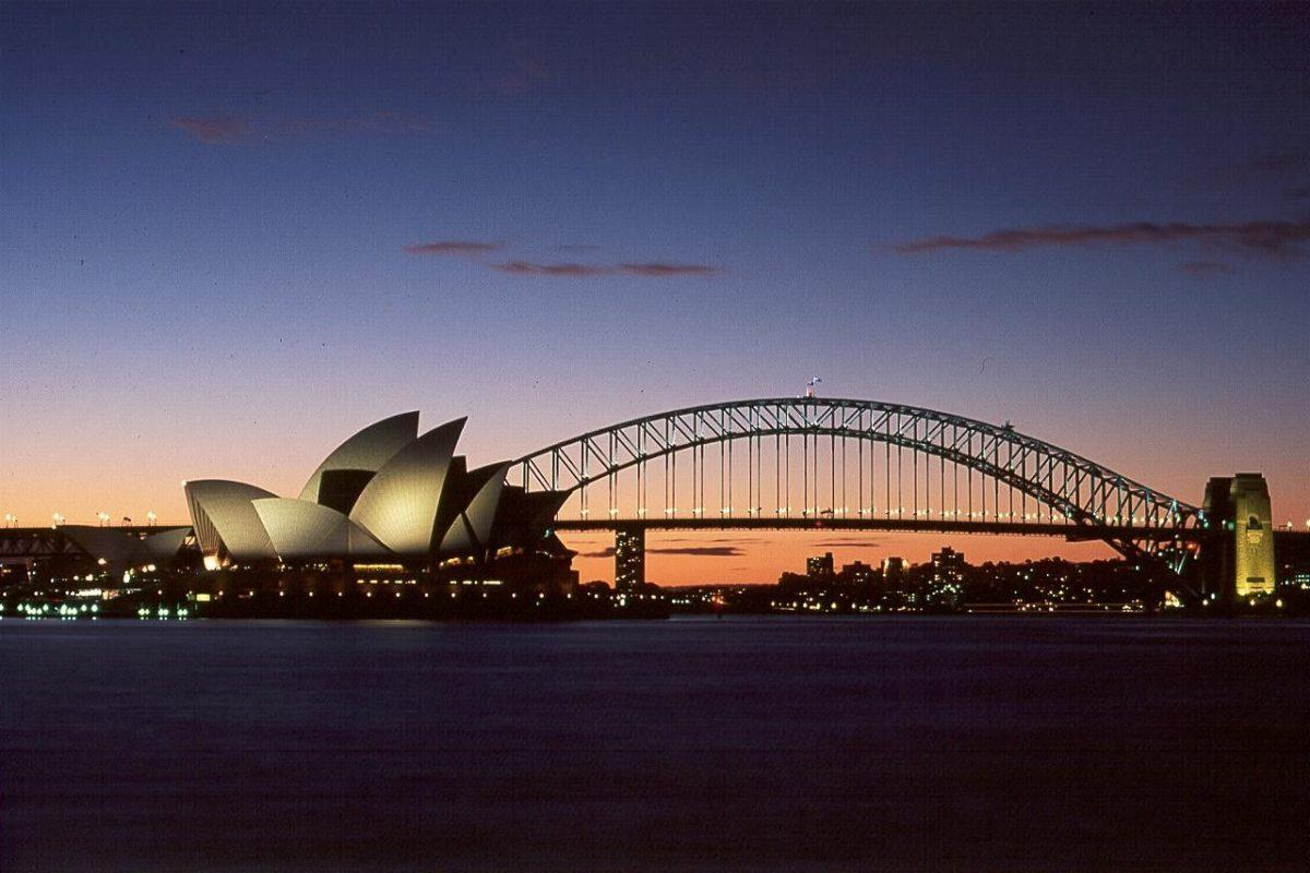 Bridges: Opera House Bridge Night Australia Sydney Desktop …