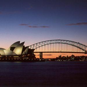 download Bridges: Opera House Bridge Night Australia Sydney Desktop …