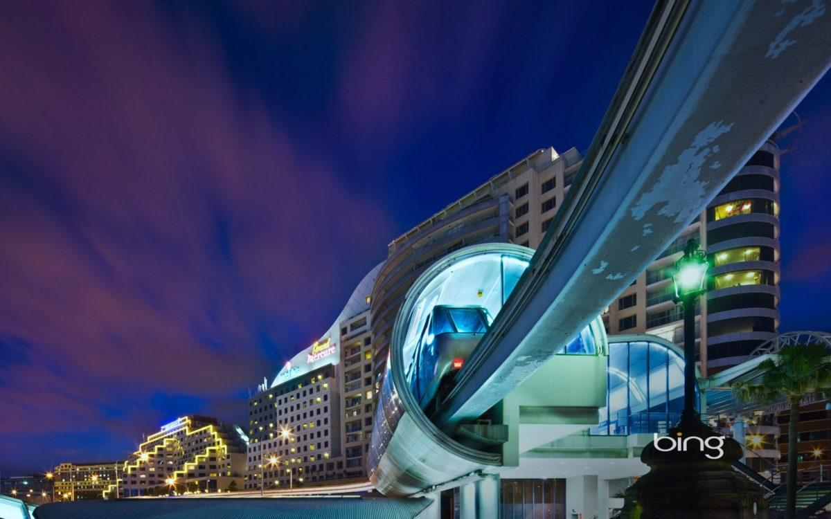 Monorail Darling Harbour Sydney Wallpapers | HD Wallpapers | ID #10149