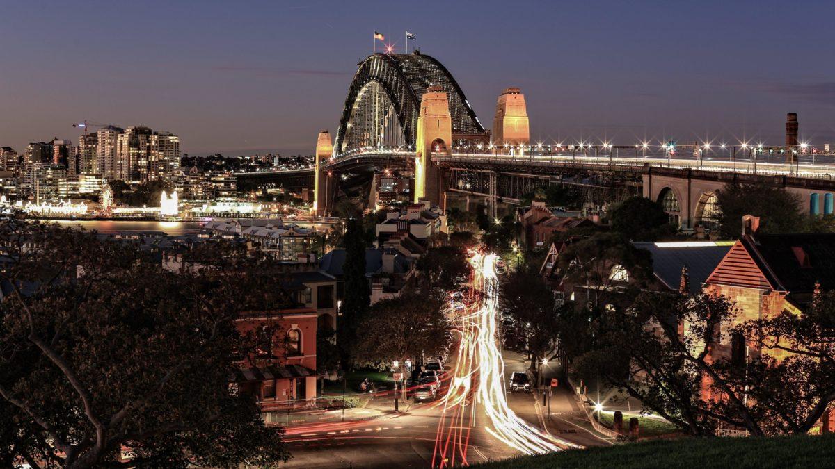 Bridge in Sydney HD desktop wallpaper : Widescreen : High Definition …