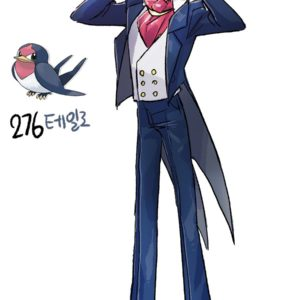 download Pokemon Gijinka 276. Taillow 277. Swellow | Fundamentals | Pinterest …