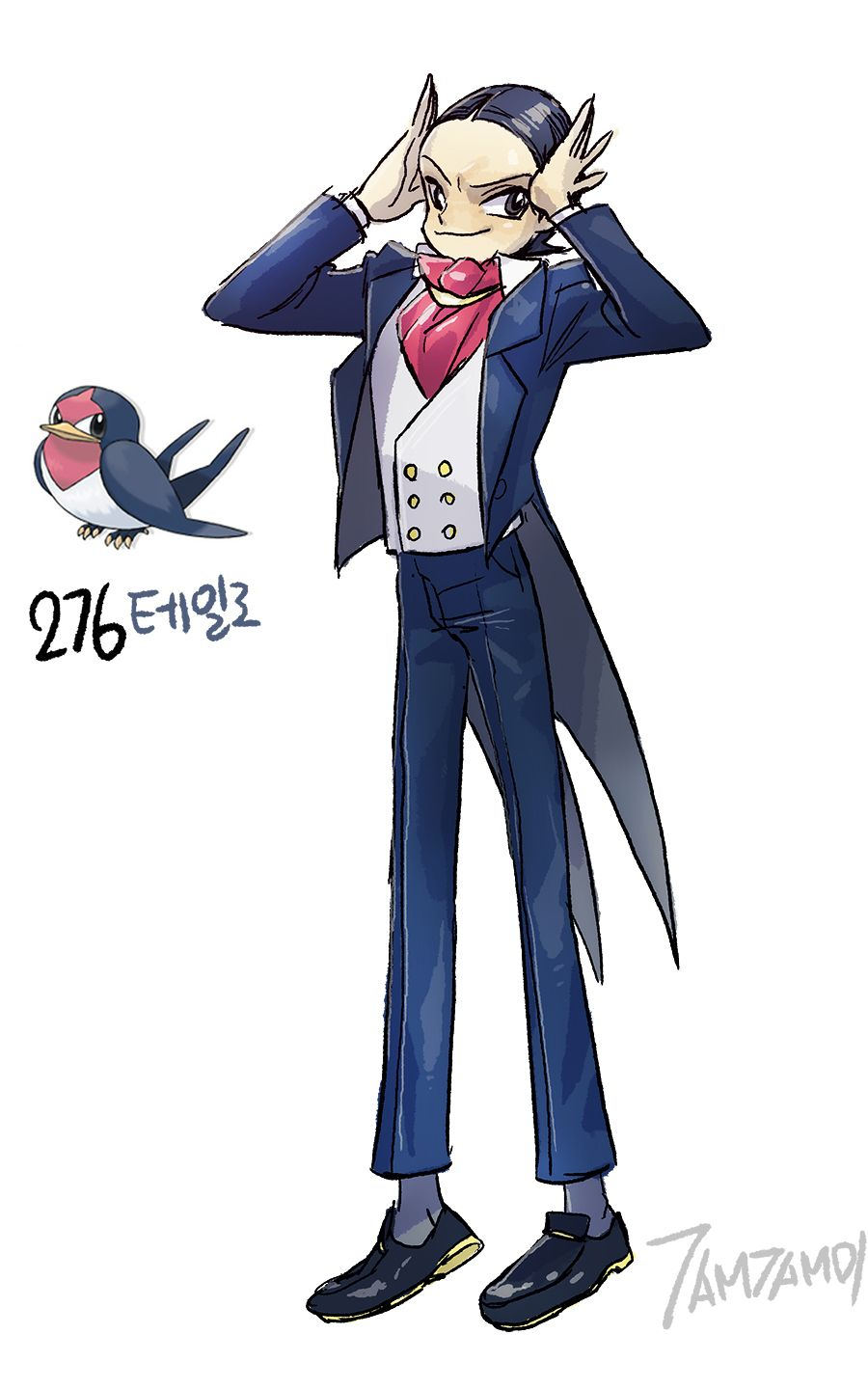 Pokemon Gijinka 276. Taillow 277. Swellow | Fundamentals | Pinterest …