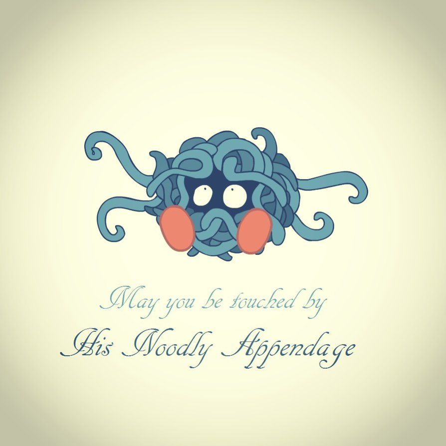 Pastafarian Tangela by Technophonix on DeviantArt