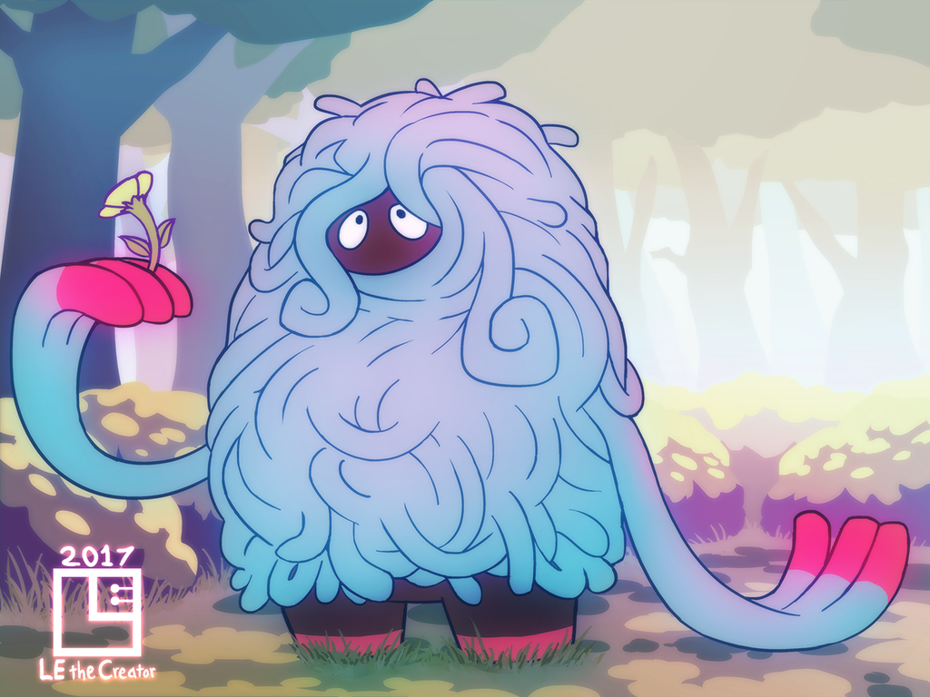 Tangrowth Appreciating Nature by LE-the-Creator on DeviantArt