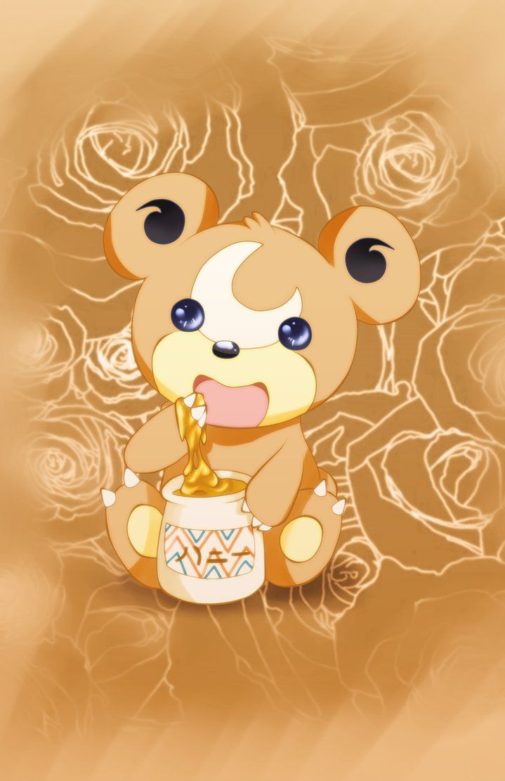 Teddiursa Chunkey Honey Drop by KayandO on DeviantArt
