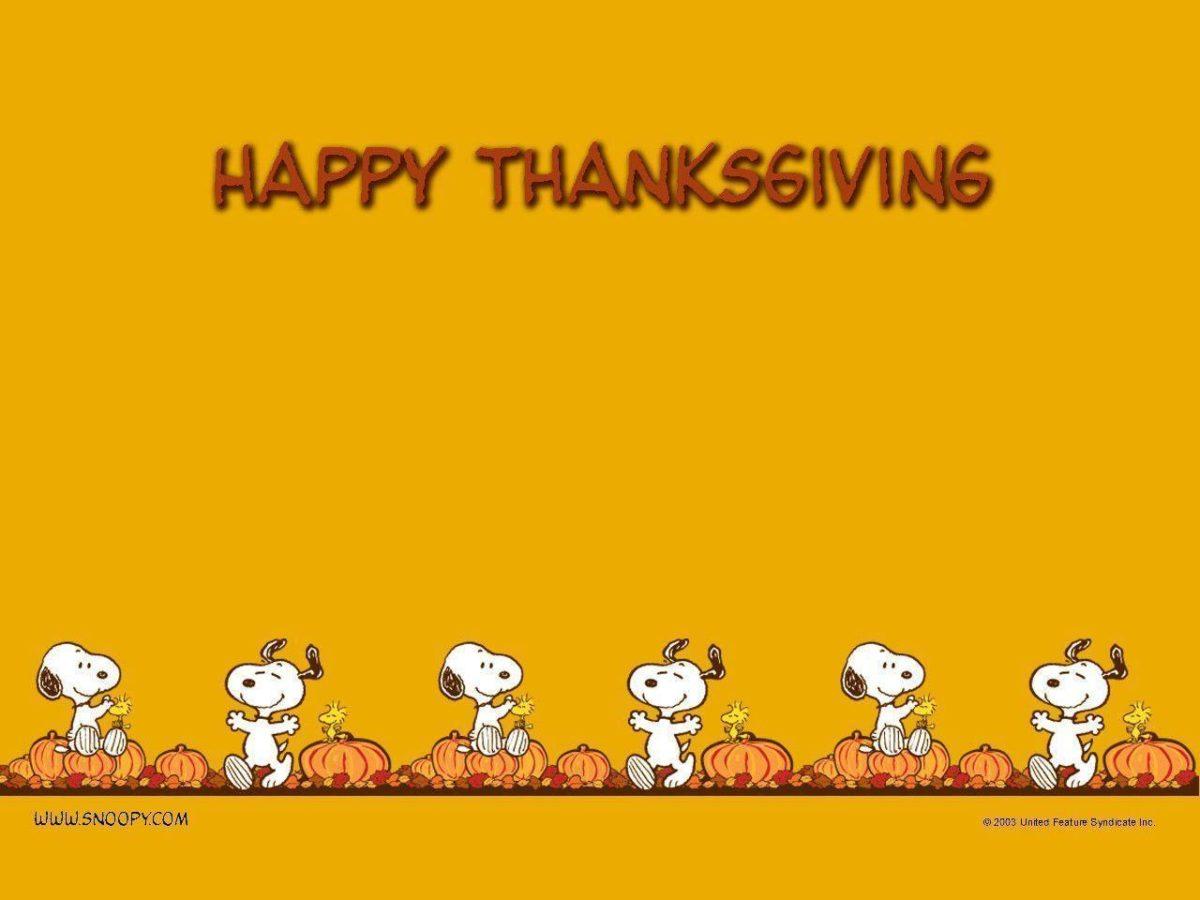 Thanksgiving – Peanuts Wallpaper (452773) – Fanpop