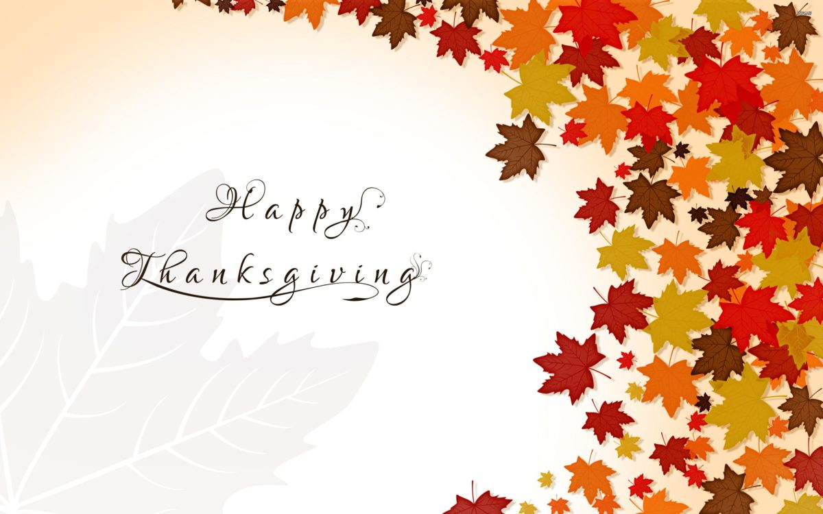 Holiday Happy Thanksgiving Wallpaper Red Background Thanksgiving …