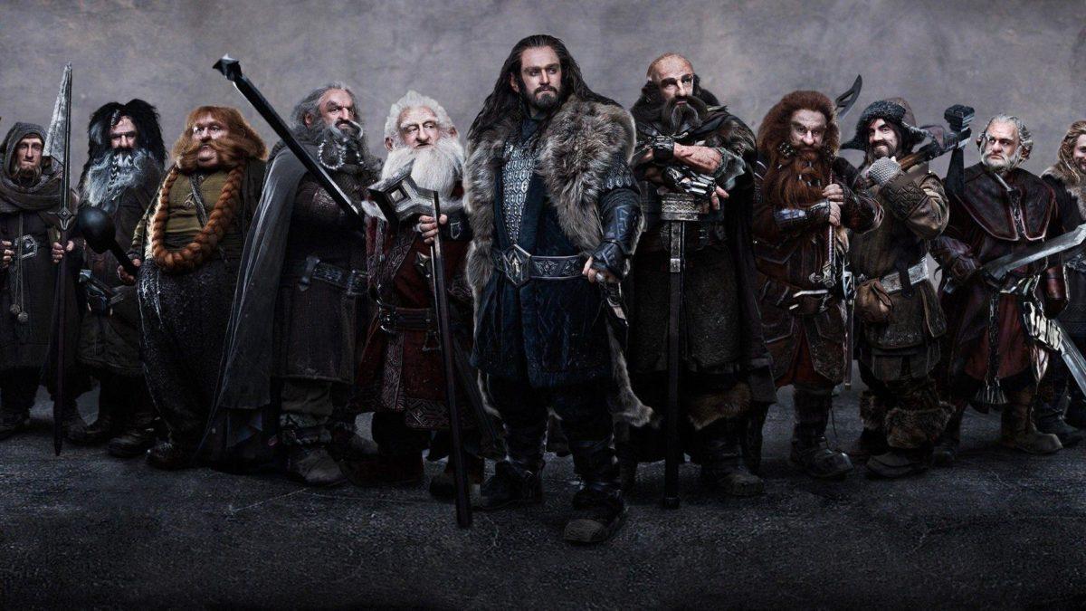 The Hobbit dwarves Wallpaper #