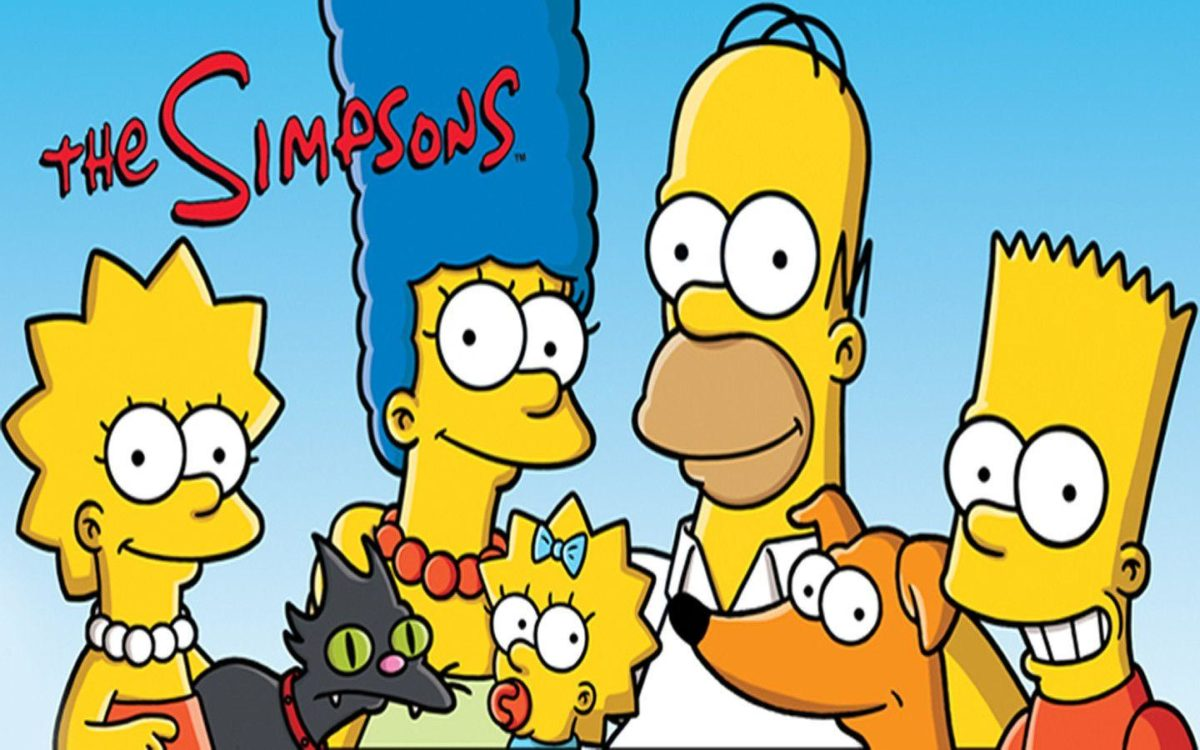 The Simpsons Family Introduction Desktop Wallpaper HD | Cartoons …