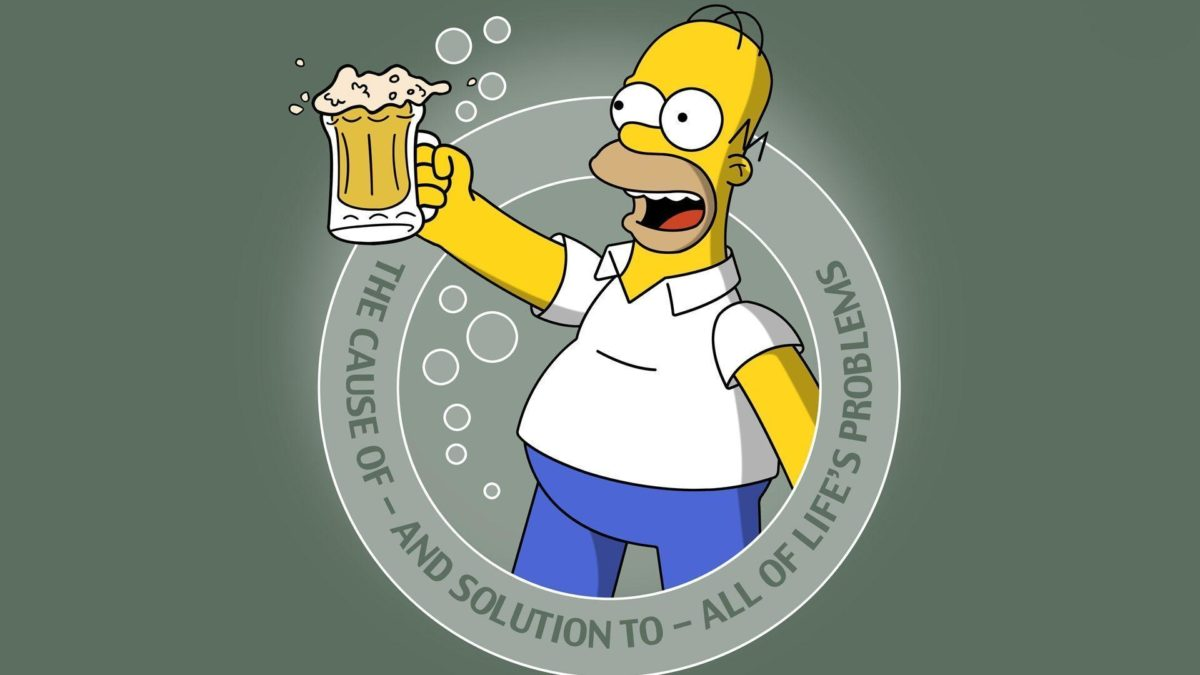 Homer- Got Beer? Computer Wallpapers, Desktop Backgrounds …