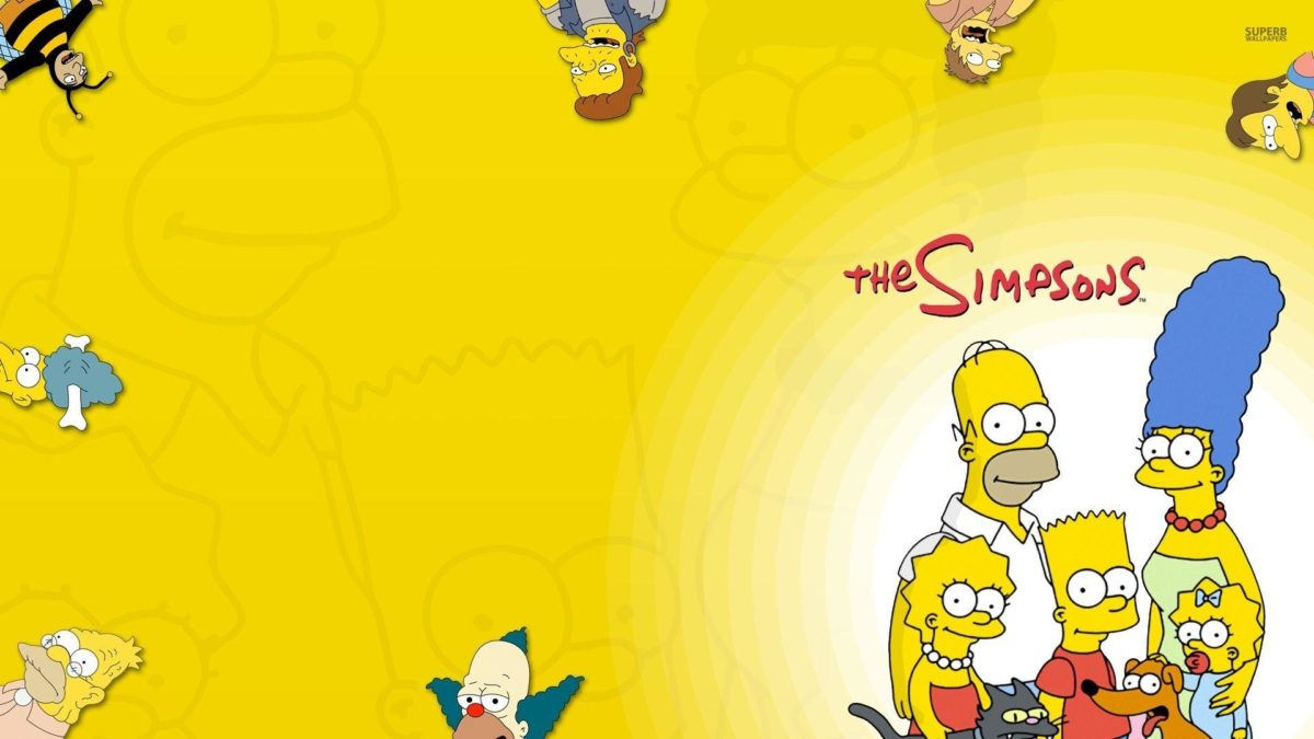The Simpsons Wallpaper Page 1