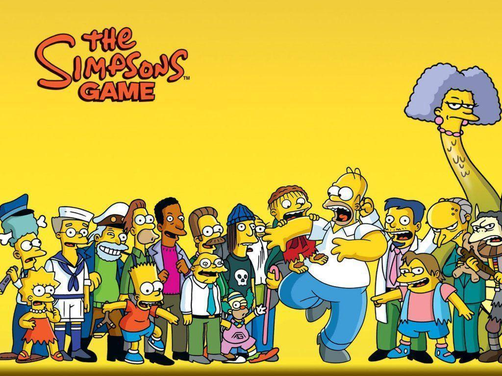 The Simpsons Wallpaper 1024×768 Wallpapers, 1024×768 Wallpapers …