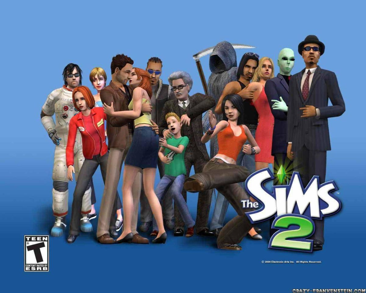 The Sims 2 – Game wallpapers – Crazy Frankenstein