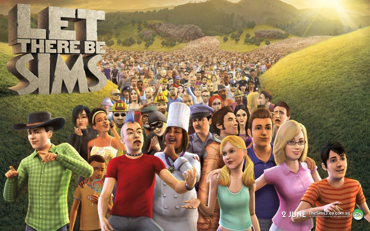Let There Be Sims – The Sims 3 Wallpaper at Wallpaperist