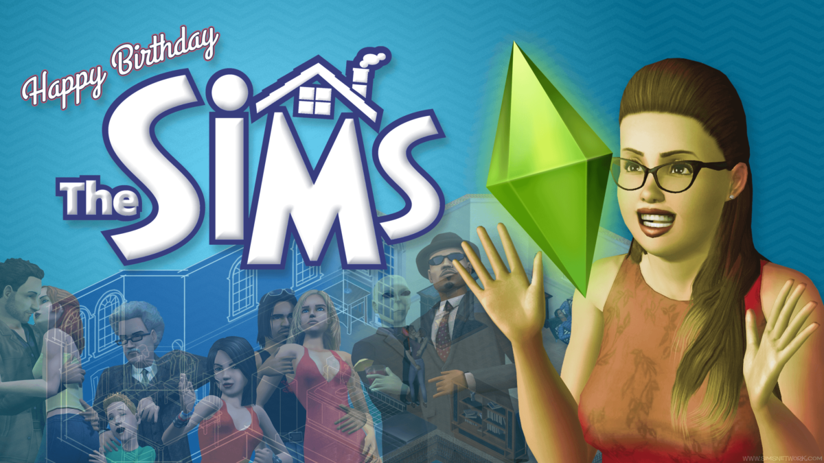 The Sims Anniversary Wallpapers! | SNW | SimsNetwork.com