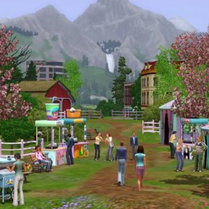 download 4 Staions – The Sims Wallpaper