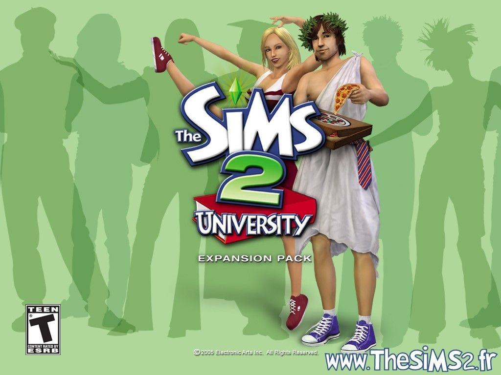 My Free Wallpapers – Games Wallpaper : The Sims 2 – University