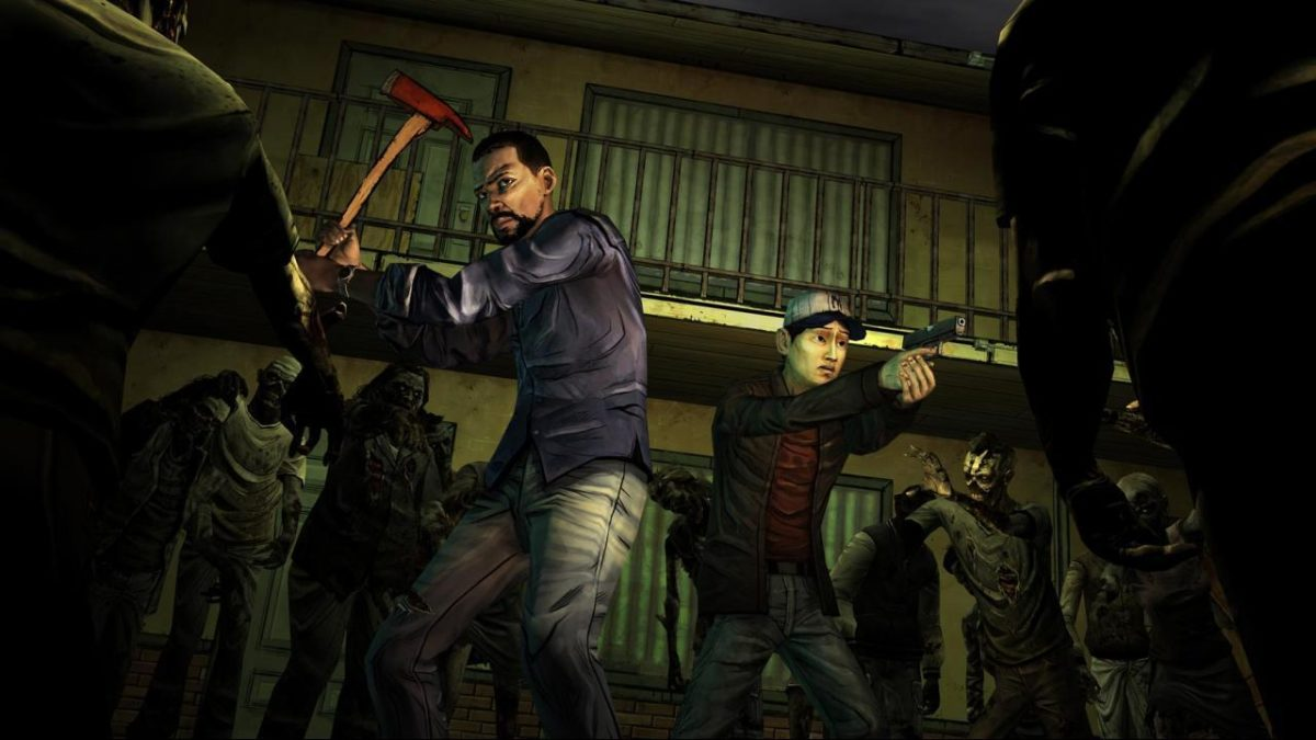 Pix For > The Walking Dead Game Wallpaper