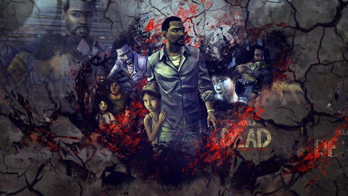 The Walking Dead Lee wallpaper