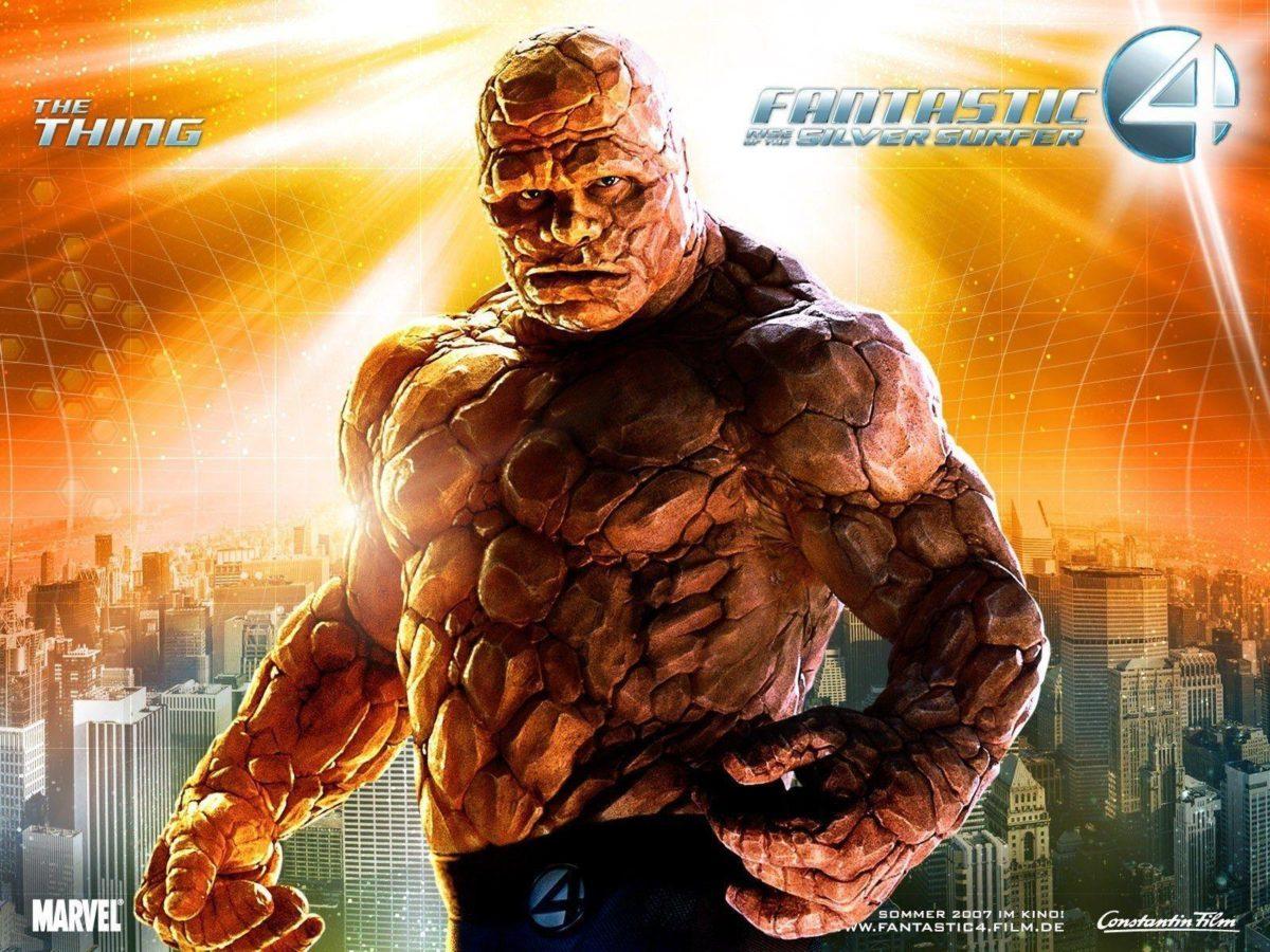 Fantastic 4 The Thing Hd Free Wallpaper