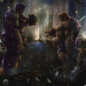 download Hulk vs Thing HD desktop wallpaper : High Definition : Fullscreen