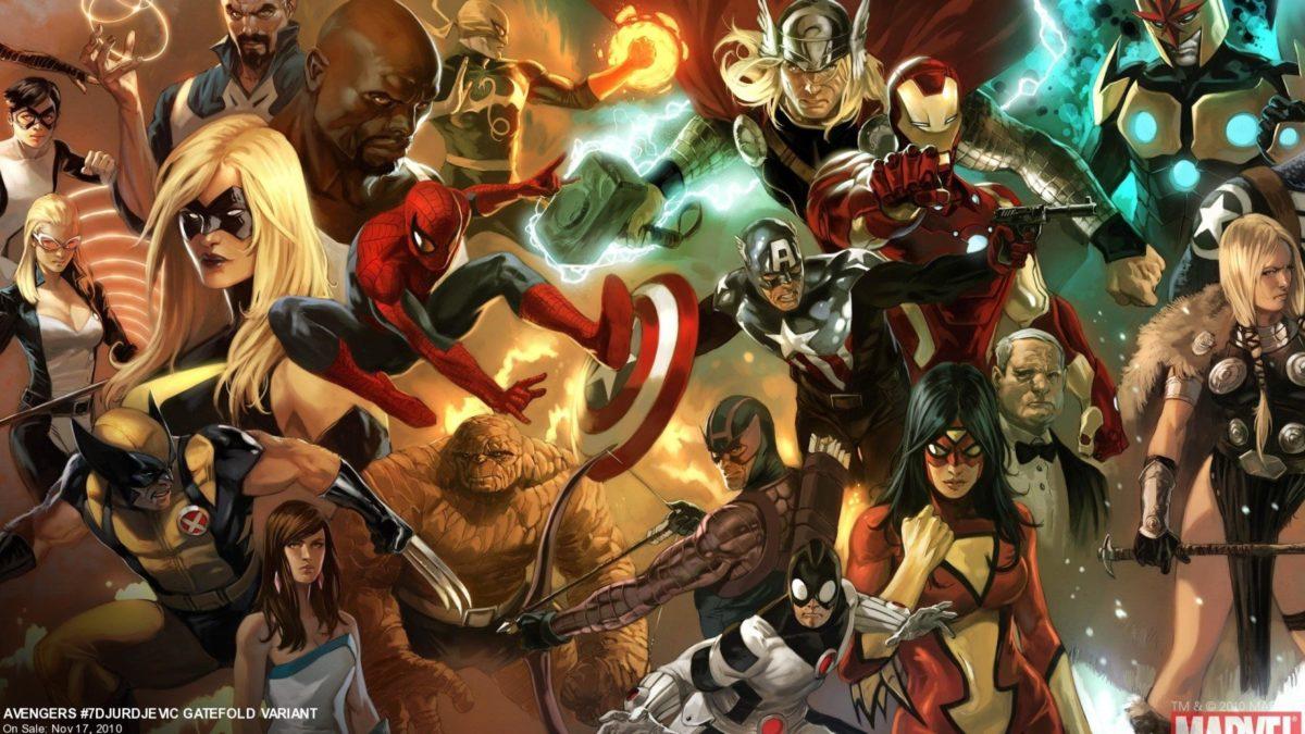 Ff Marvel Wallpaper