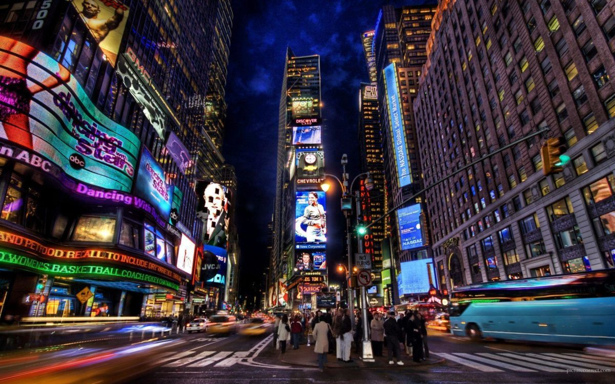 Times Square HD Wallpaper | Theme Bin – Customization, HD …
