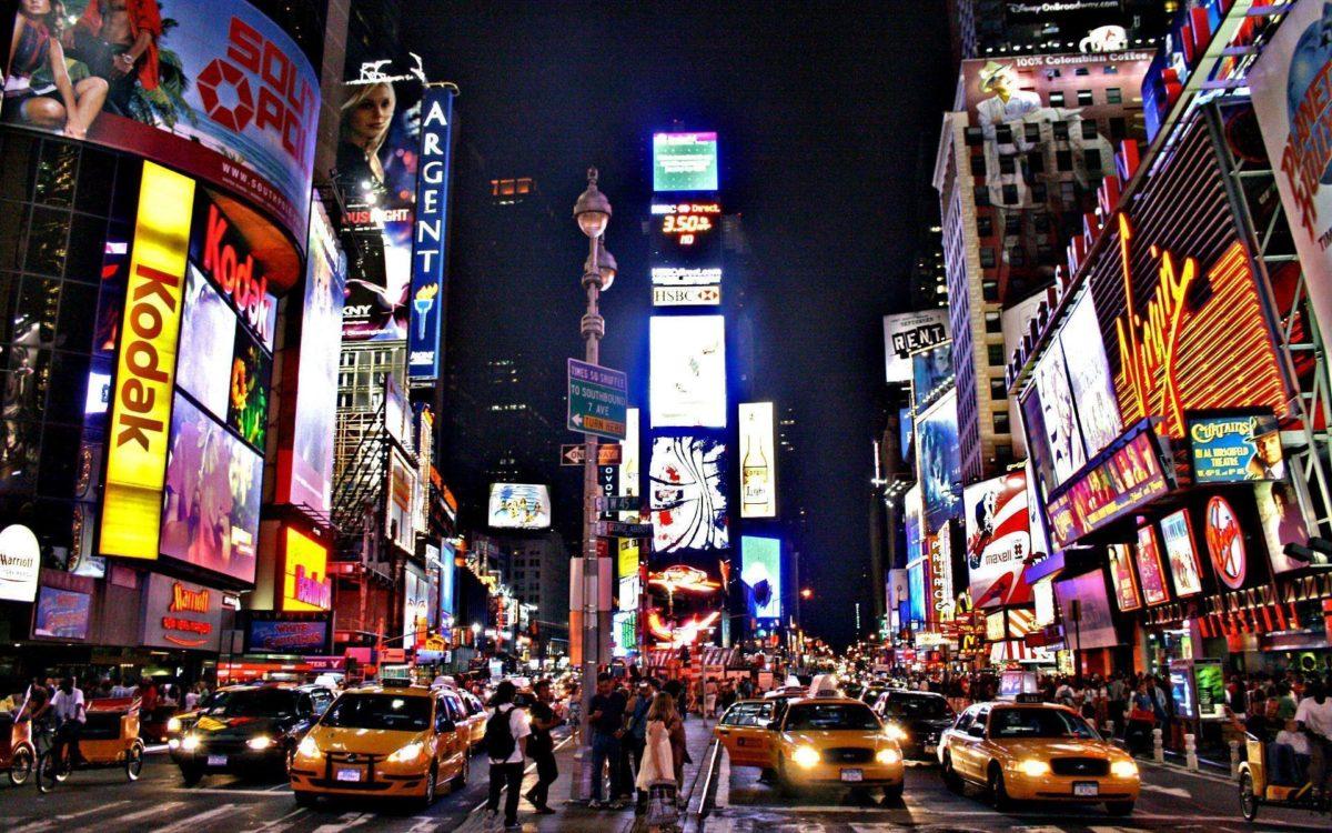 Times Square HD Wallpaper PC #14405 Wallpaper | Risewall.
