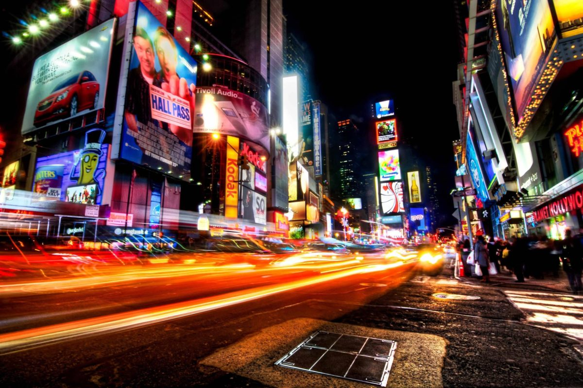 Times Square Skyline Wallpaper For Desktop #14393 Wallpaper …