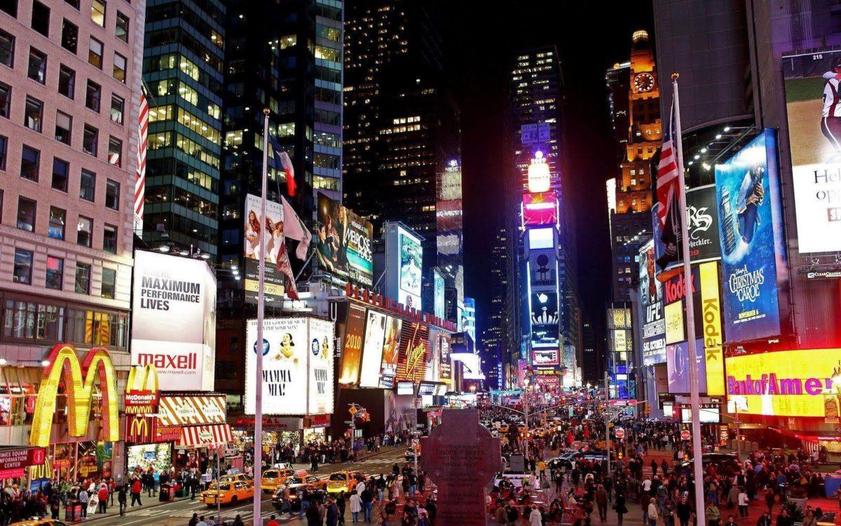 Times Square HD Wallpaper For PC #14399 Wallpaper | Risewall.