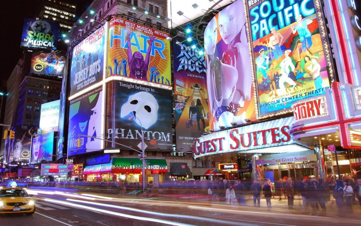 Pix For > Times Square Wallpaper