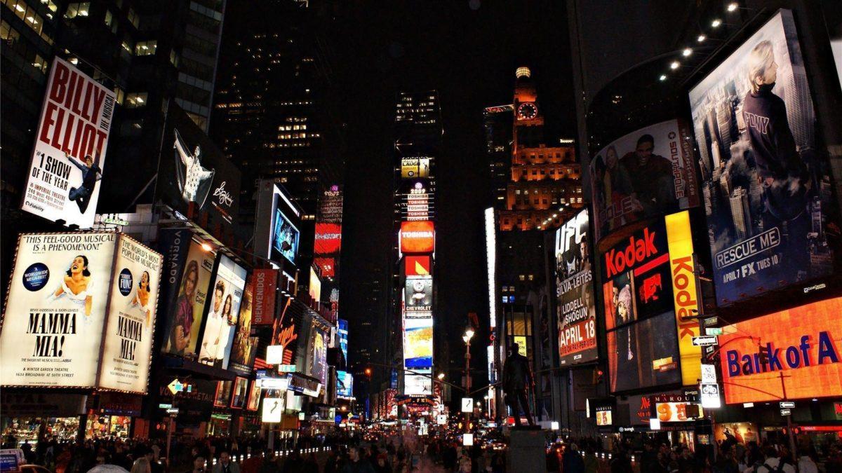 Times Square Wallpaper Hd Wallpaper | 4Wlp