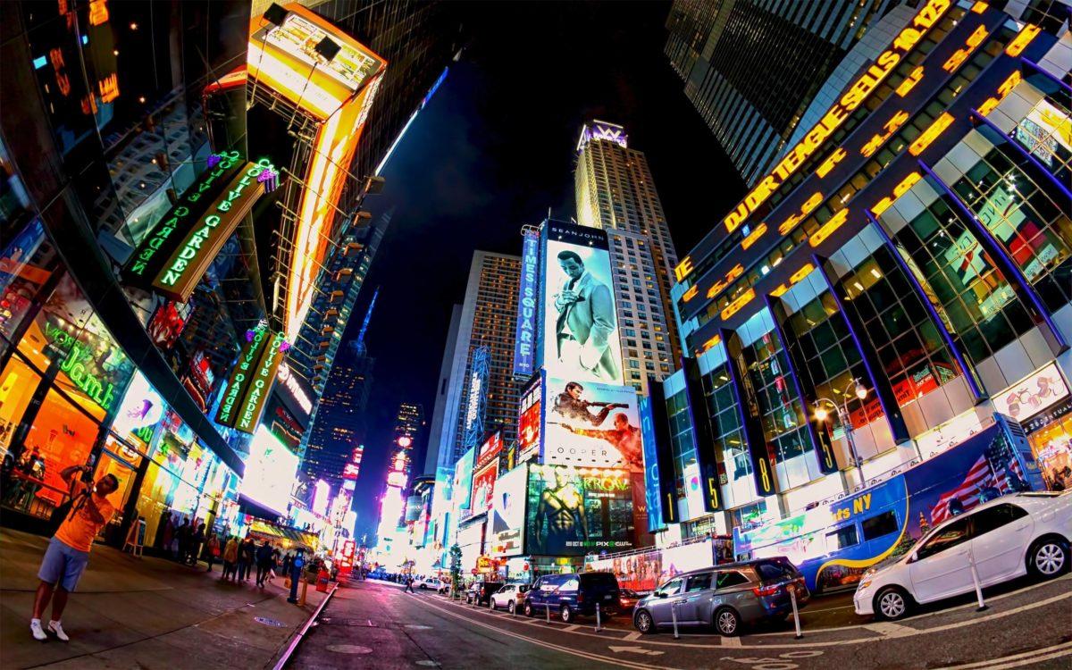 Times Square wallpaper #