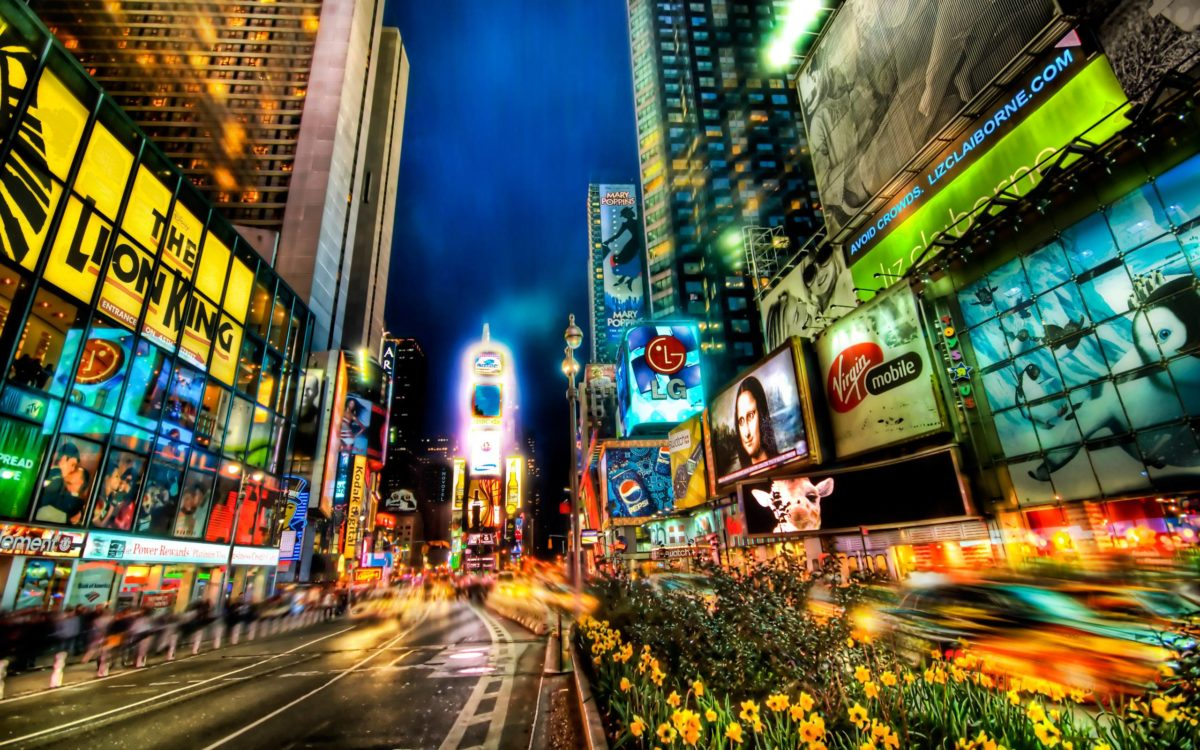 Times Square New York City United States 2560×1600 wallpaper