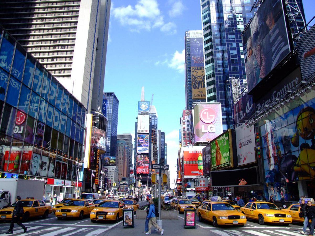 New York Times Square 2560×1920 wallpaper