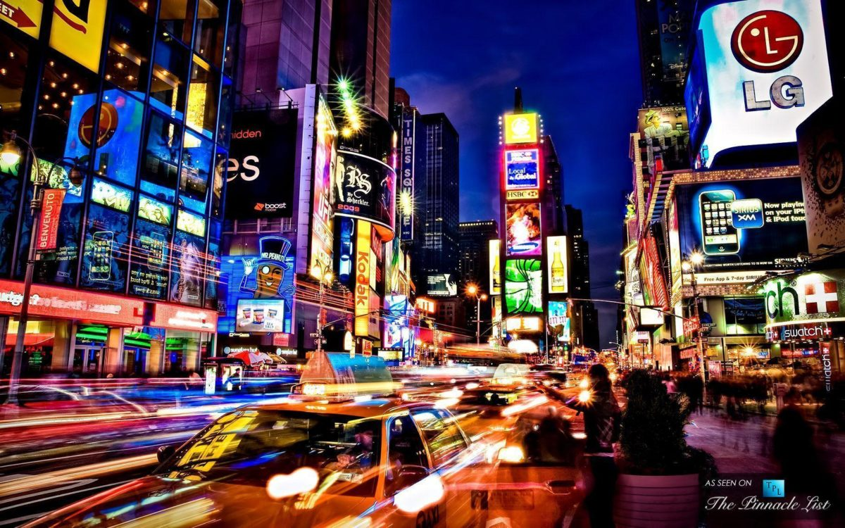 Times Square new york usa city cities neon g wallpaper | 3904×2602 …