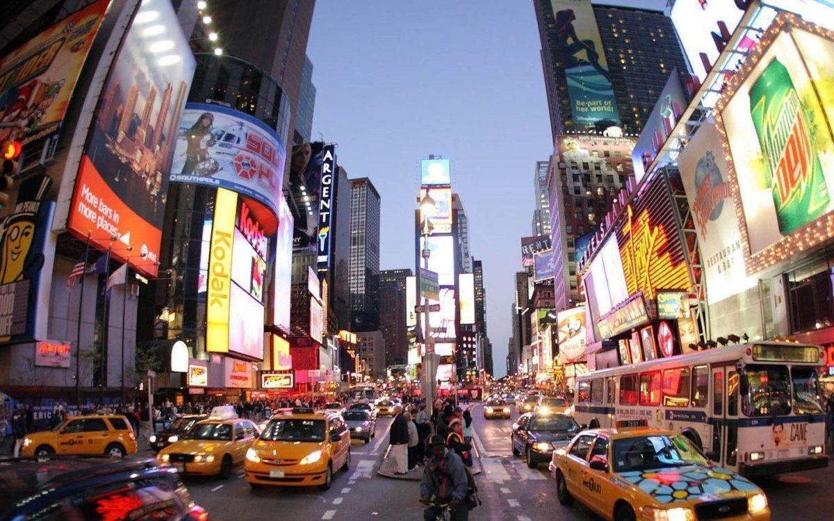 New York Times Square Life wallpaper