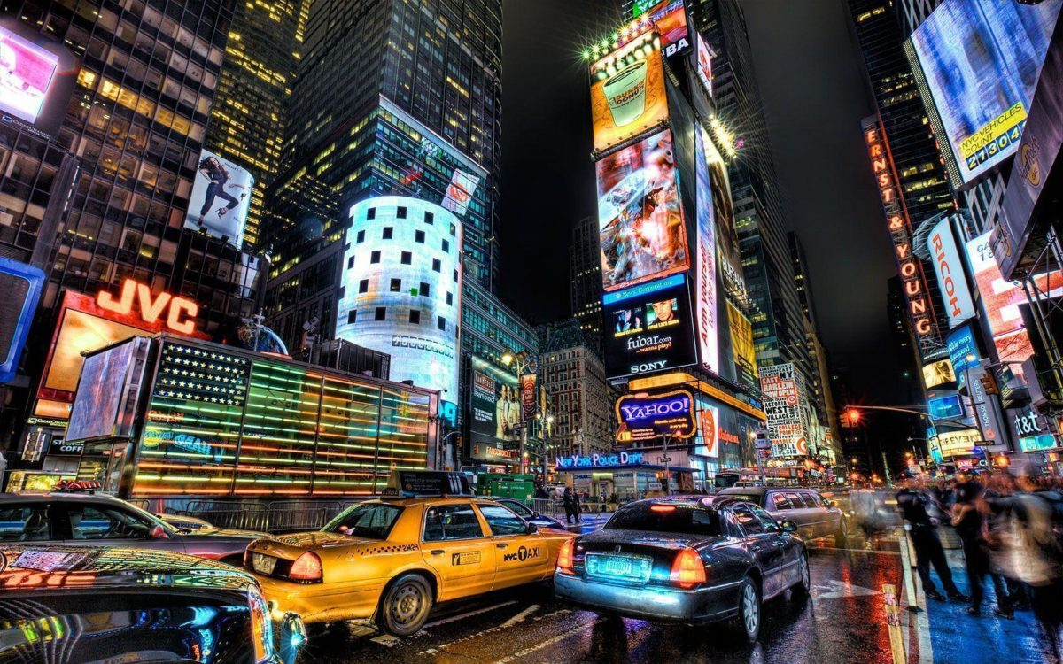 Times Square Night – Cities Wallpapers