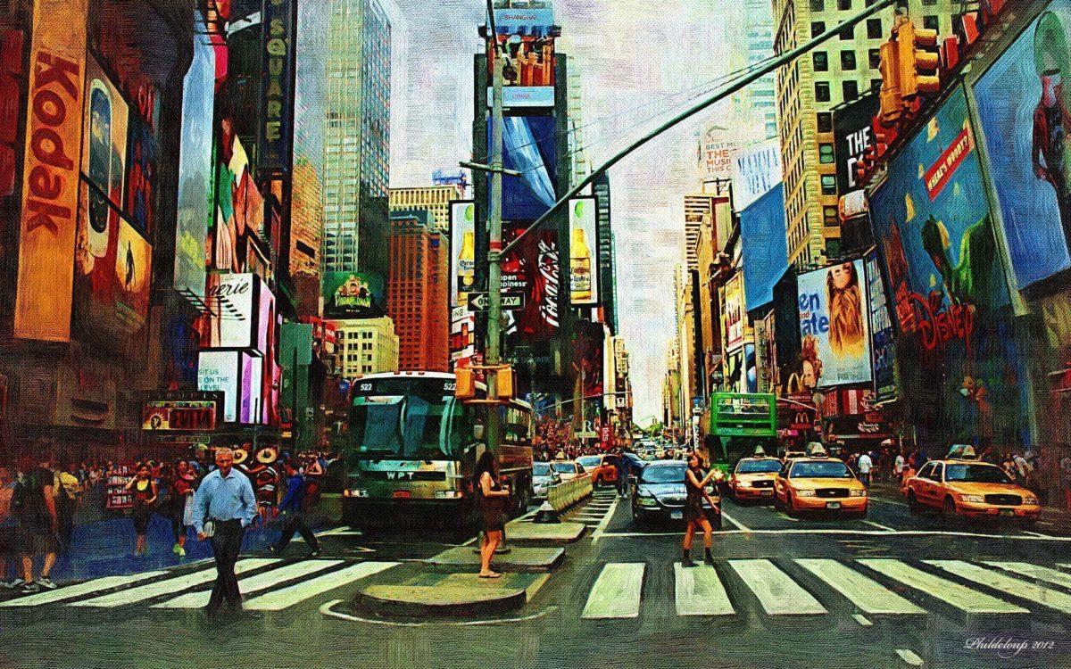 Time Square HD Wallpaper | Theme Bin – Customization, HD …