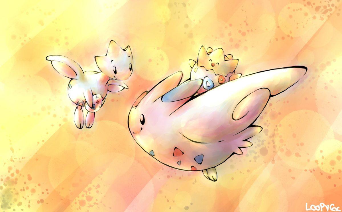 Pokemon Togekiss Togetic Togepi – WallDevil