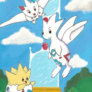 download Togepi, Togetic and Togekiss by BlackEyesSnowAngel on DeviantArt
