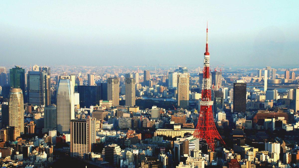 Tokyo Skyline 2560×1440 wallpaper