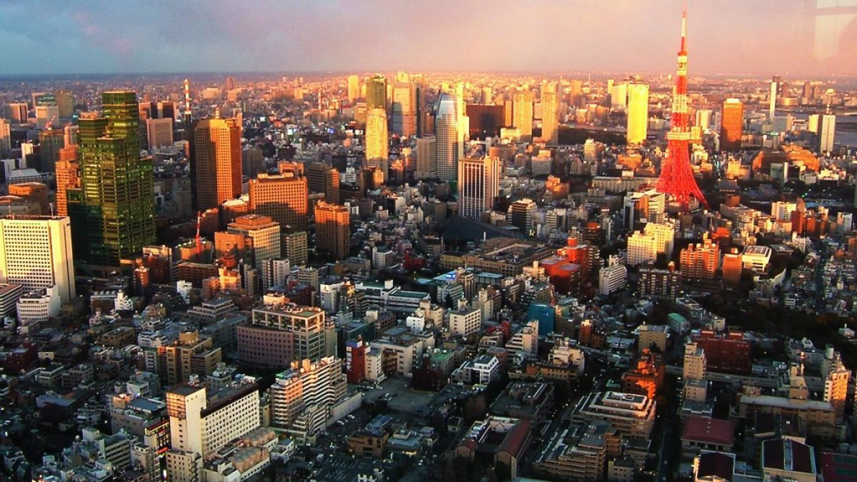 Tokyo City Background Wallpaper #7230 Wallpaper | Risewall.