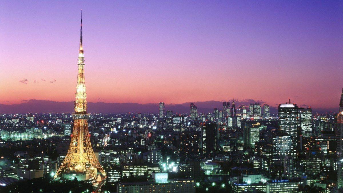 Tokyo Tower Wallpaper HD #20037) wallpaper – Wallatar.com