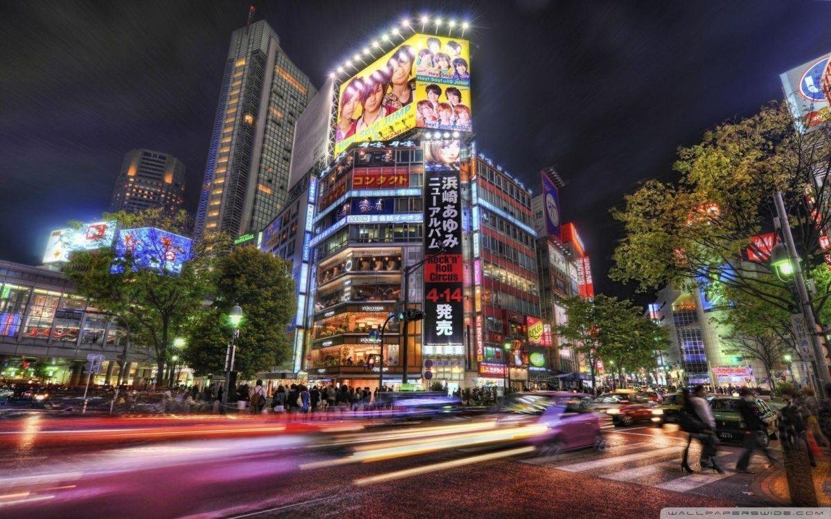 streets of tokyo wallpaper | Wallpup.